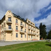 Lázeňský dům ZÁBOJ, hotel v Lázních Kynžvart