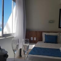 Flats a beira mar em hotel na pajuçara