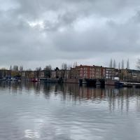 Houseboat on the Amstelriver
