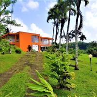 House with 3 bedrooms in saintjoseph with wonderful sea view enclosed garden and WiFi