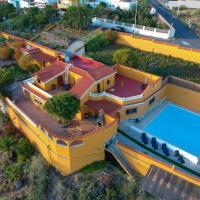 Canalina, Villa con piscina y vistas al Balcón de Telde