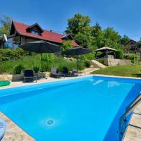 Nice home in Seketin w/ Outdoor swimming pool and 2 Bedrooms