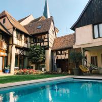 Maison d'hôtes La Rose d'Alsace, hotel in Rosheim