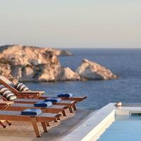 Villa Imperial Milos, hotel in Mandrakia
