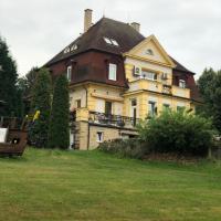 Ubytování v soukromí rodinné vily v Děčíně