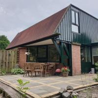Uniek vakantiehuisje in rustige en groene omgeving