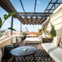 Amazing new apartment with rooftop jacuzzi