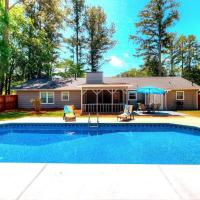 Kennesaw Oasis -Private Pool Comfy 4BDR Sleeps 14+
