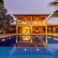 BJ01 Incrível Casa 5 Suítes em Barra de Jacuípe