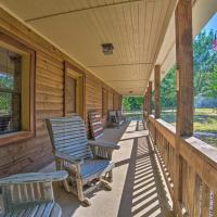 Peaceful Alabama Cabin on Secluded Acreage!