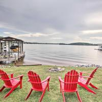 Lakefront Living with Dock, Fire Pit and Sunroom!