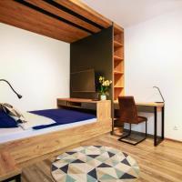 Apartament z ogrodem w centrum Limanowej – hotel w Limanowej