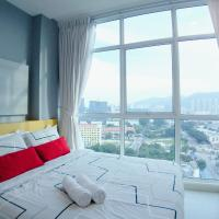 Strait Garden Suite with Fabulous City View, hotel in Jelutong