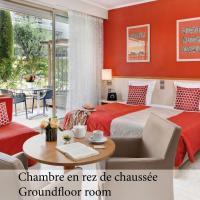 The Originals Boutique, Hôtel Les Strélitzias, отель в Жюан-ле-Пен