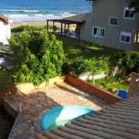 Casa Inteira com Vista para a Praia do Itaguaçu, São Francisco do Sul-SC