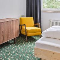 Apartmenthaus - Café - Zugspitze