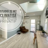 Studio Ora - 22m² - climatisé avec balcon privatif