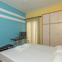 Bright and colourfull 3 bedrooms apt in Kallithea