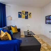 Virexxa Bedford Centre - Alpha Suite - 2Bed Flat with Free Parking & Gym