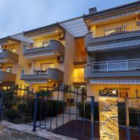"""Apartments Bellevue, hotel near Kavala International Airport """"""""Megas Alexandros"""" - KVA, Keramotí"""