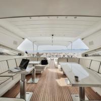 27 m yacht at Antibes