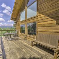 Rustic Backcountry Cabin with Views 1Mi to Fairplay!, hotel in Fairplay