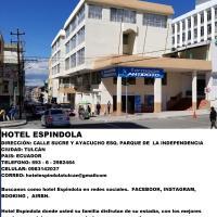 Hotel Espindola, hotel em Tulcán