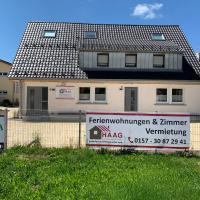 Haag Ferienwohnung Medium für 5 Personen mit 3 Schlafzimmern und Terrasse
