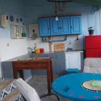 spiti athina-the blue house in doukades village