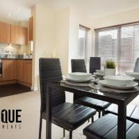 Open plan 2 Bedroom Apartment with Free Parking