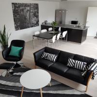 Central gårdlejlighed i Skjern nær indkøb og natur 2 bedroom city apartment