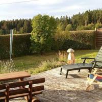 Ferienwohnung Steinwald Ausläufer mit Blick auf Kösseine