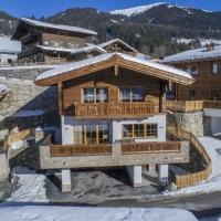 Chalet by the Skiing Area in Neukirchen with Sauna
