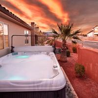 Paradise Village 121 Private Hot Tub, X BOX, 5 Bikes, Bag Toss, Pack n' Play, Games, Mountain Views, and More