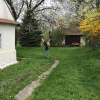 Romantická chalúpka s veľkou záhradou, hotel u gradu 'Senica'