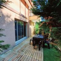 Villa patio duplex pinède