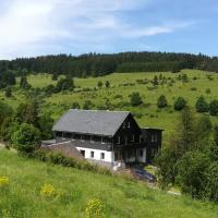 Familie Pension Obere Juchhe, vakantiewoning en kamers, hotel di Gräfenthal