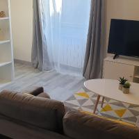 Studio 1 proche aéroport - zone de Chesnes - CNPE, hôtel à Satolas-et-Bonce près de: Aéroport de Lyon - Saint-Exupéry - LYS