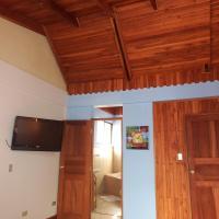 Teak-wooden & granite apartment