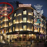 Antusa Design Hotel & Spa, hotel in Old City Sultanahmet, Istanbul
