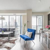 Views of Downtown Toronto - Luxury High Rise with King Bed