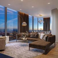 1-комн. квартира, 120 м², 43/60 этаж в Moscow City