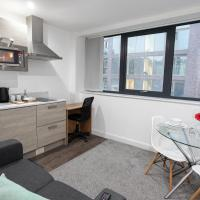 Modern Studio Apartment In The Heart of Manchester By Pillo Rooms