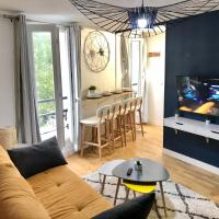 Hullman Suite Apartment 4 People Between La Défense and Paris