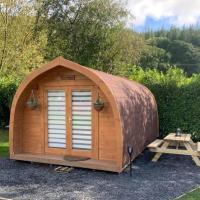 Cosy Glamping Pod in heart of Snowdonia National Park