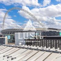 Lush PENTHOUSE Apartment Opposite Hilton & Wembley Stadium