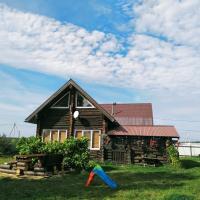 Wooden house in Drakino
