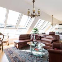 Großes Penthouse #12 mit Terrasse und Aussicht