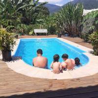 Casa aconchegante com piscina próximo à praia
