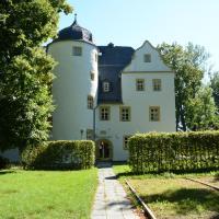 Schlosshotel Eyba mit Gästehaus、ザールフェルトのホテル